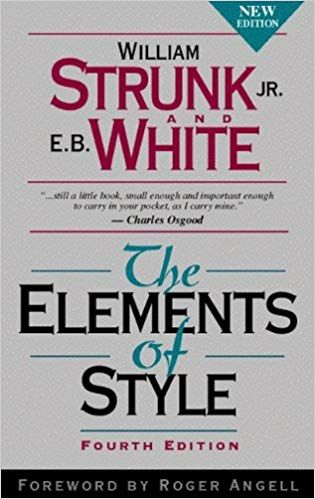《The Elements of Style》